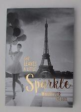 z She leaves a little sparkle wherever she goes Pocket Travel Journal Book dream