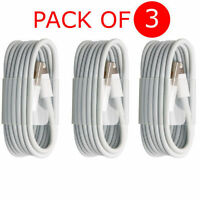 ORIGINAL GENUINE 3M Apple Lightning USB Data Charger Cable For iPhone 6S 5 5S