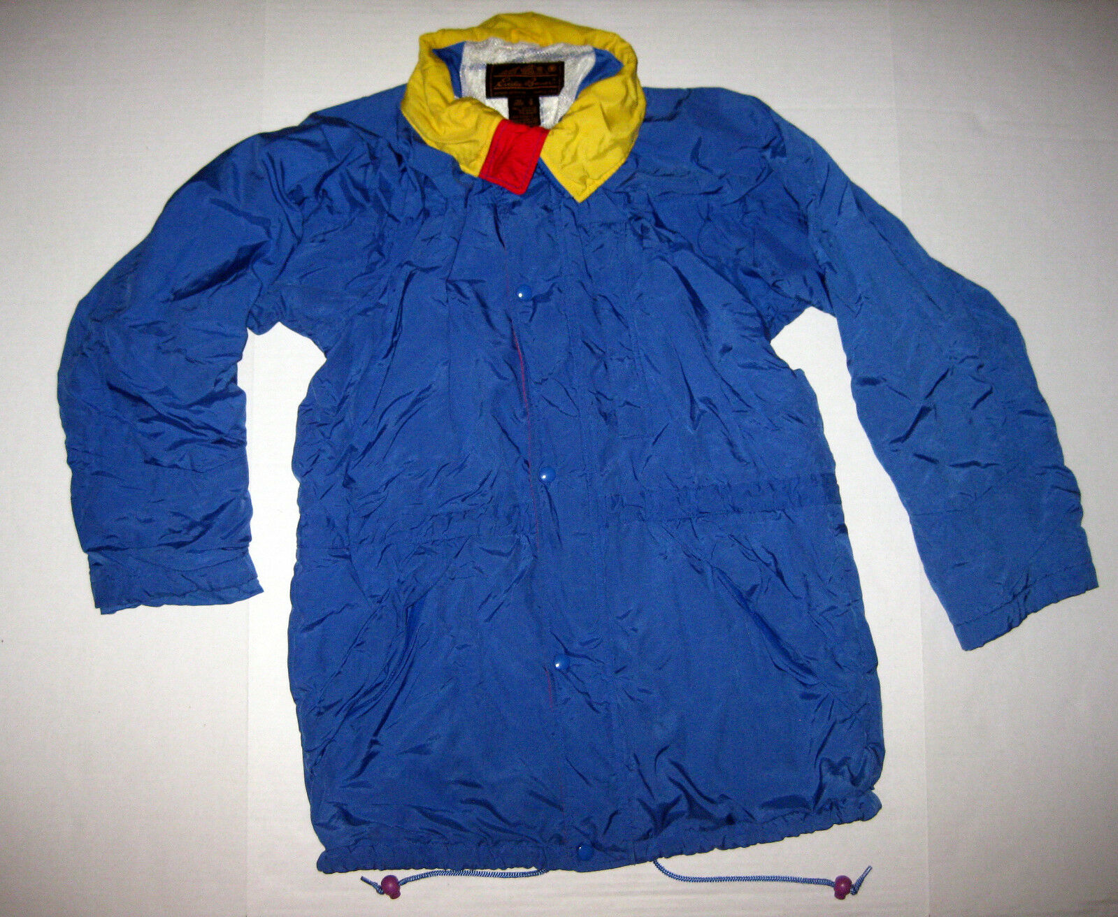 Qualitätskontrolle Gelb rot Blau Bauer Eddie Vintage herren