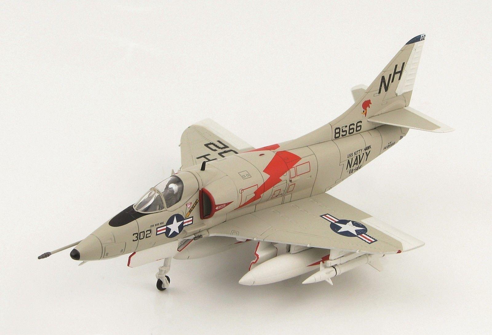 Hobby - meister 1   72 us - a-4c skyhawk 148566, va-144  wegekuckucke , uss kitty hawk