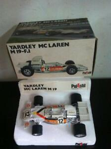 Polistil-Politoys-1-25-Yardley-McLaren-M19-M-19-F1-Diecast-MIB-1974