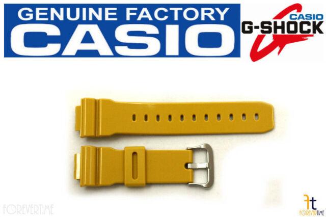 eab76c82aed Casio 10303984 Mustard Yellow Watch Band 16mm Dw-5600cs-9v Dw5600cs ...