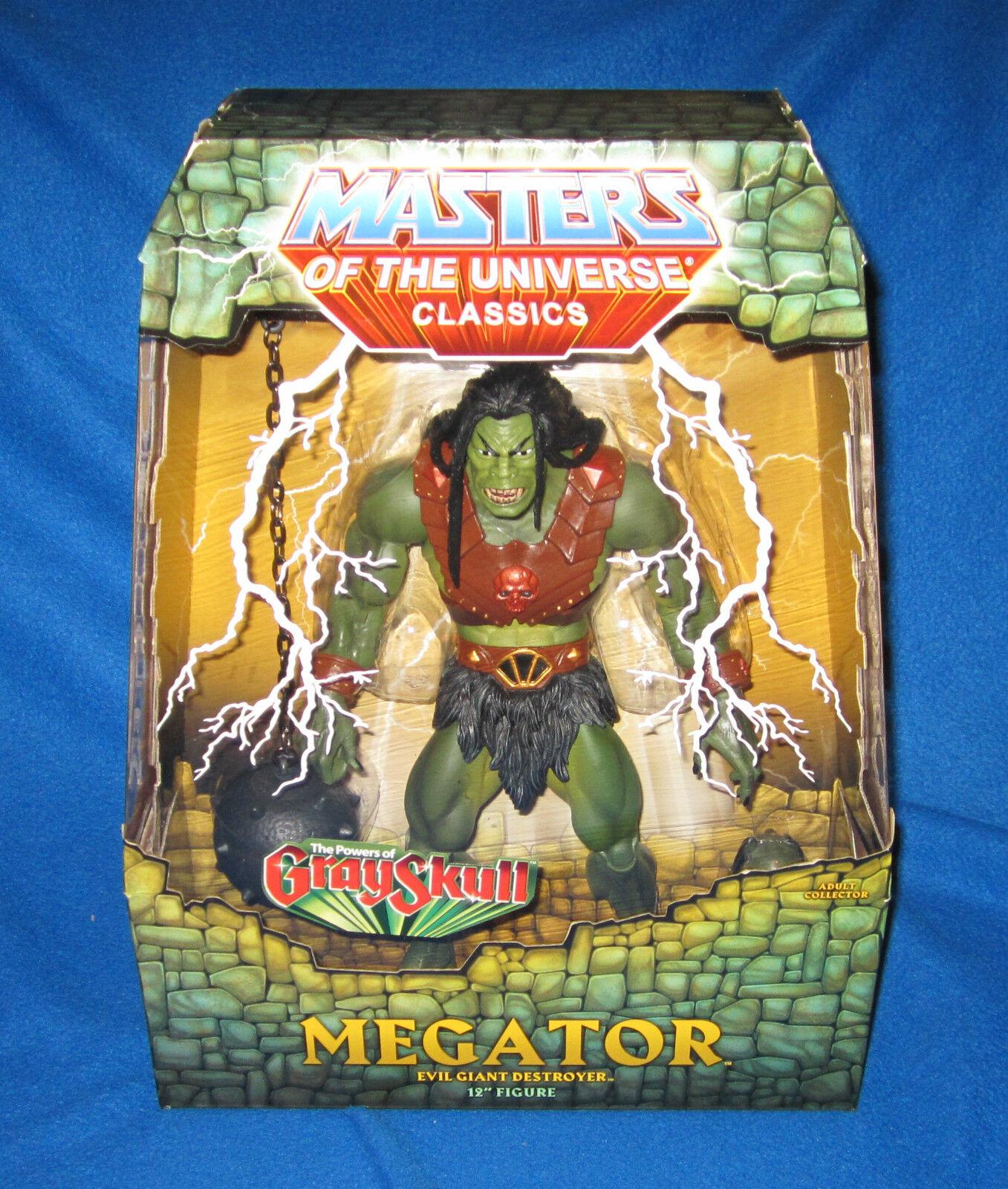 MASTERS OF THE UNIVERSE MOTU CLASSICS MEGATOR 12  FIGURE NEW