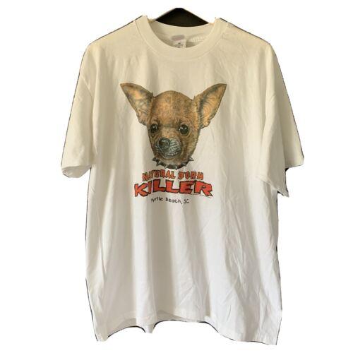 Vintage Natural Born Killers Chihuahua Shirt 90s S