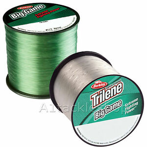 Berkley-Trilene-Big-Game-Fishing-Line-Monofilament-Green-or-Clear