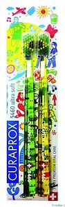 CURAPROX CS 5460 Toothbrushes Ultra Soft Tooth Brushes Swiss, Brazil Special Ed.