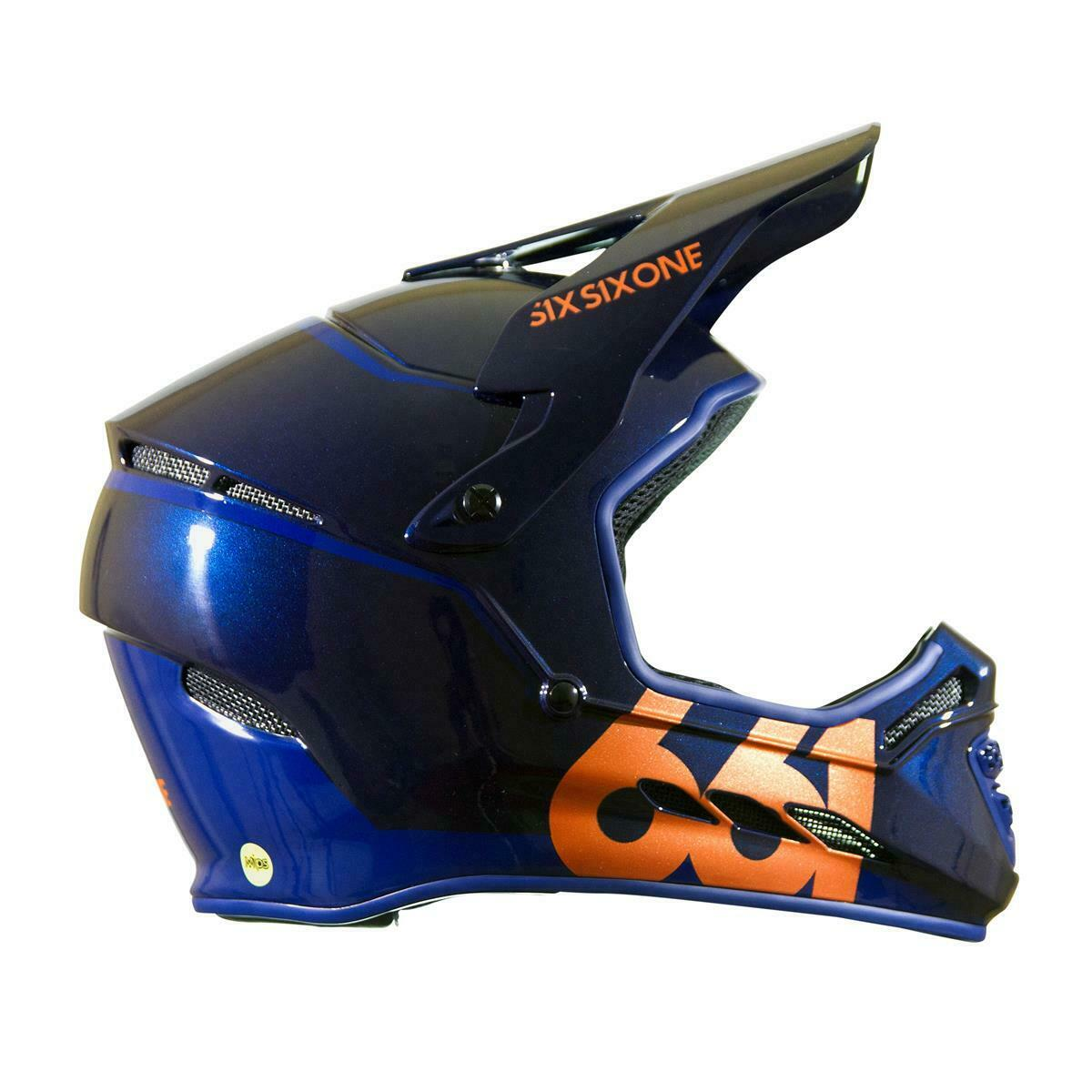 SixSixOne downhill-MTB casco Reset Midnight Copper