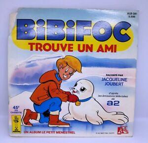 BIBIFOC-trouve-un-ami-JACQUELINE-JOUBERT-TV-A2-EP-7-DISQUE-LIVRE