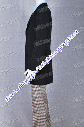 Who Is The Second Dr 2nd Doctor Man Uniform Suit Movie Cosplay Costume Halloween