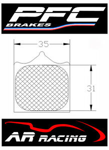 Performance Friction Race Brake Pads 95 Comp to fit BMW S1000RR 2009-2016