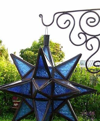 Wall Mount Bracket Plant Hanger Lantern Lamp Hook Bird House Holder Moroccan SM