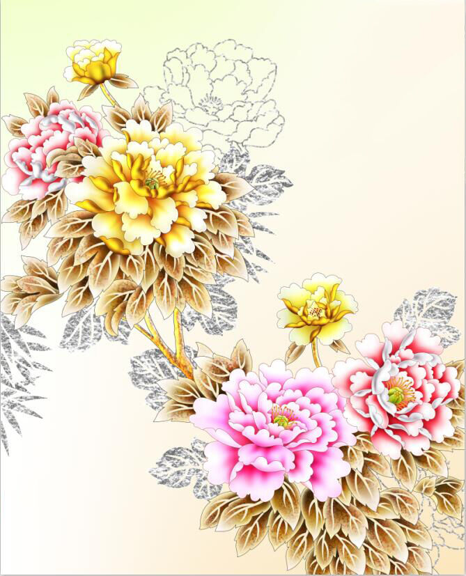 3D Farbe PfingstRosa Fototapeten Wandbild Fototapete Fototapete Fototapete Bild Tapete Familie Kinder | Mittlere Kosten  18025a