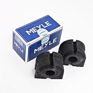 2x Meyle Gummillager Bearing Stabiliser Front For BMW 5er E60 E61 E65 E66