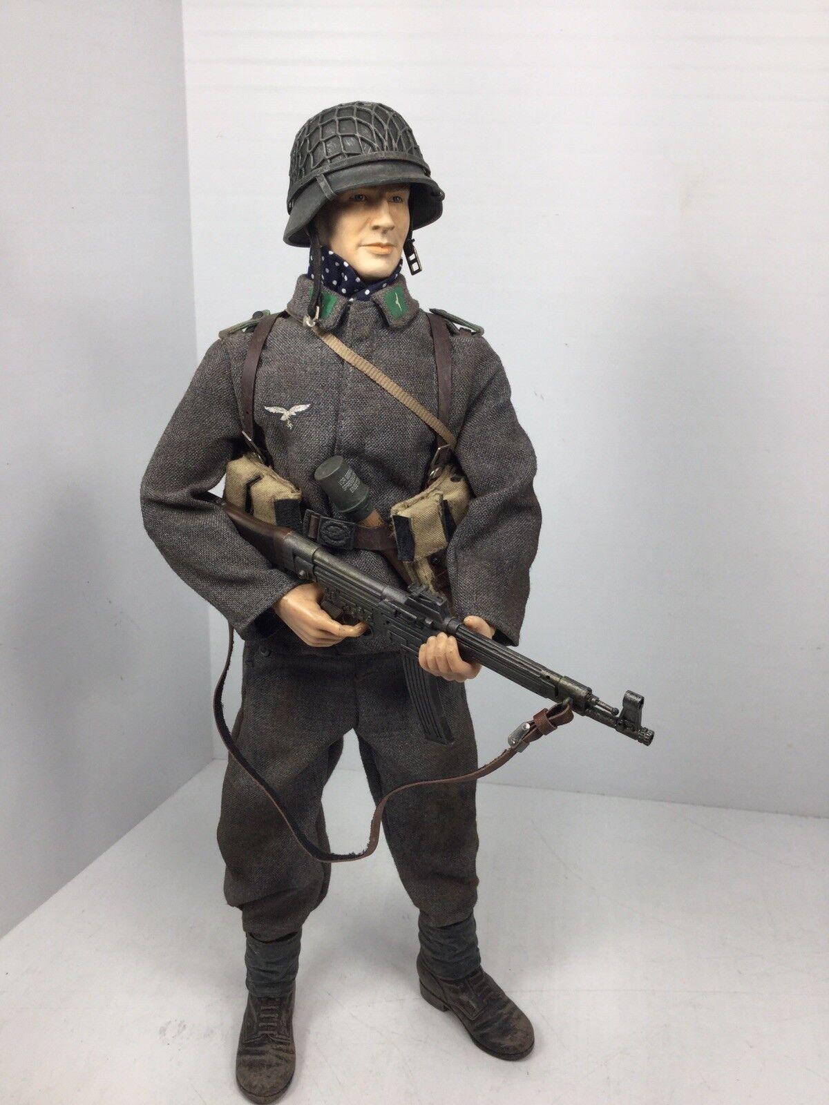 1 6 DRAGON GERMAN LUFTWAFFE GROUND DIVISION MP-44 FULL GEAR BBI DID 21ST WW2