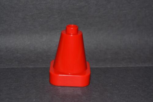 red traffic cone combined shipping Duplo accessory