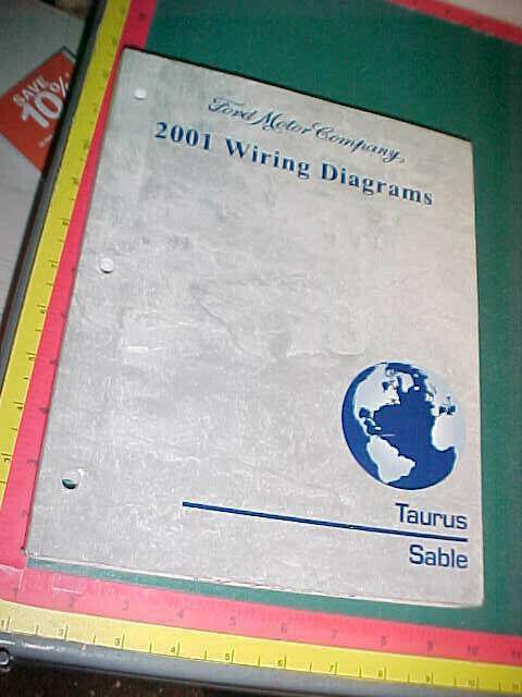 2001 FORD TAURUS MERCURY SABLE WIRING DIAGRAMS MANUAL good ...