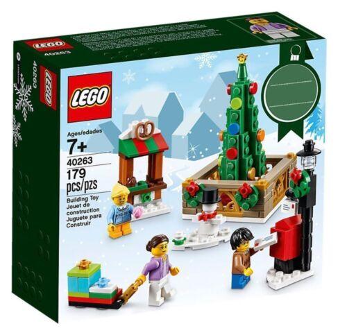 Lego ® Boite Scellée La Place de Noël Edition Limitée Set 40263 NEW