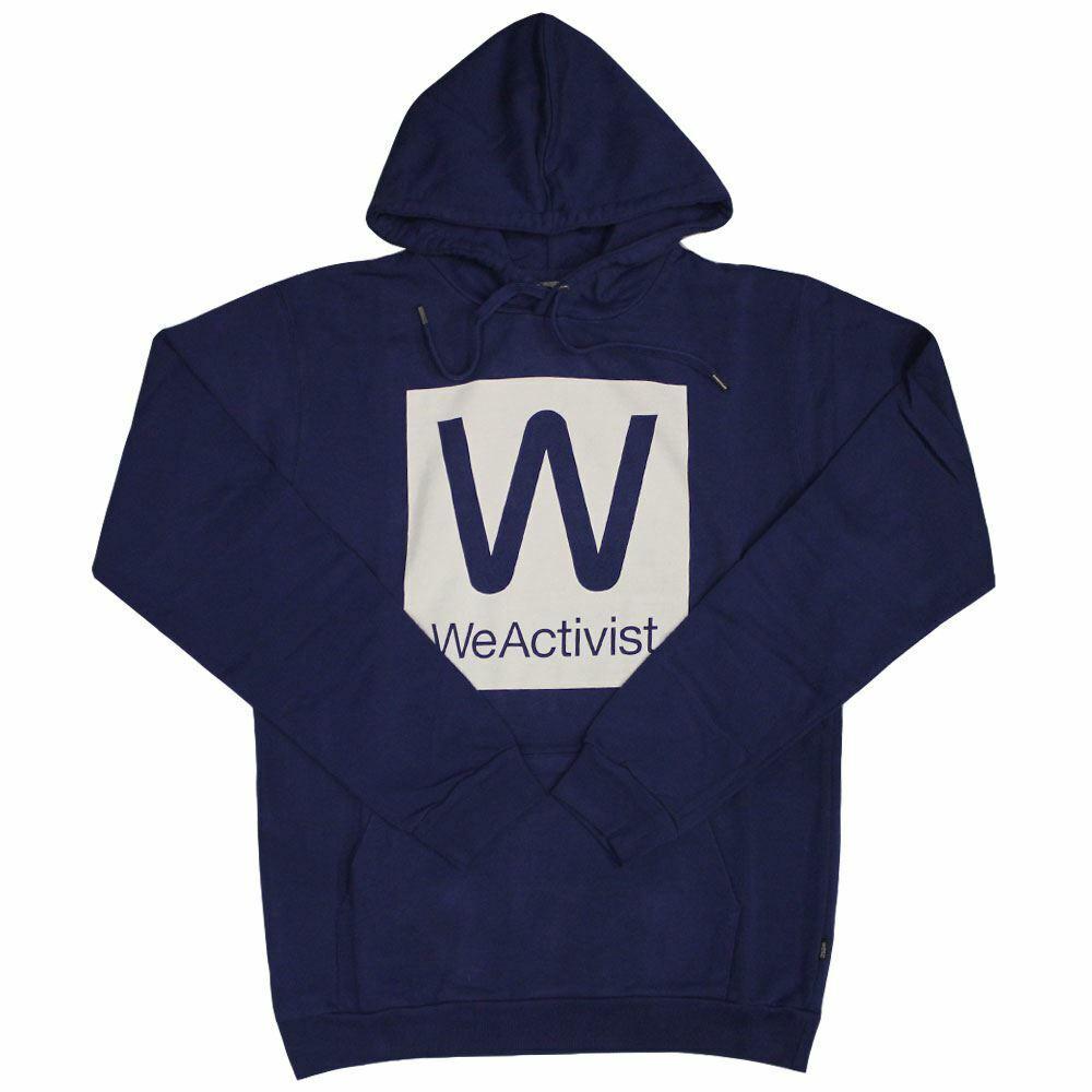 Wesc WeActivist Pullover Hoodie Estate Blau