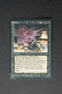 MTG Hellfire Legends English Reserved List Magic the Gathering Corner Crease