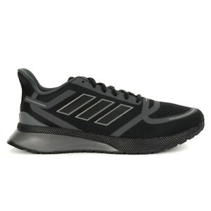 Adidas Men's Nova Run Core Black/Grey Six Running Shoes EE9267 NEW