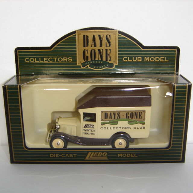 Lledo Days Gone 1930 Model 'A' Ford Van COLLECTORS CLUB WINTER 1993/94: DG56000a