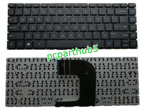 New HP Notebook 14-AM 14-AN 14-AM000 14-AM100 14-AN000 Series Laptop Keyboard US