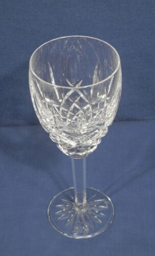 """Waterford Crystal Glass Araglin Wine Goblet 7-1//8/"""" x 2-5//8/"""" 1 of 14"""