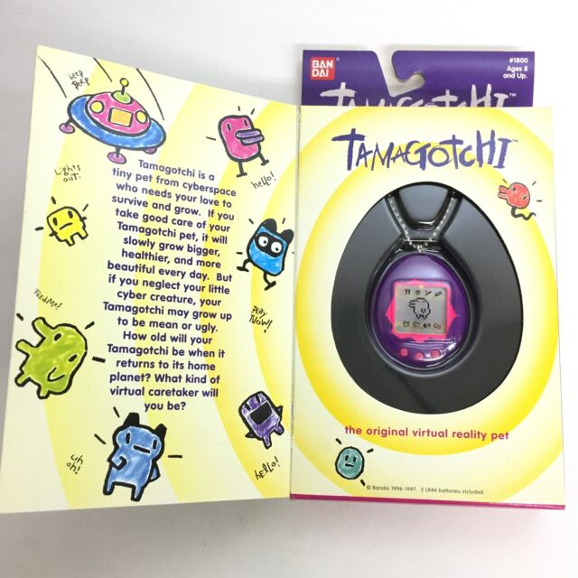 Bandai Original Tamagotchi Purple And Pink 1996 1997 English Ebay