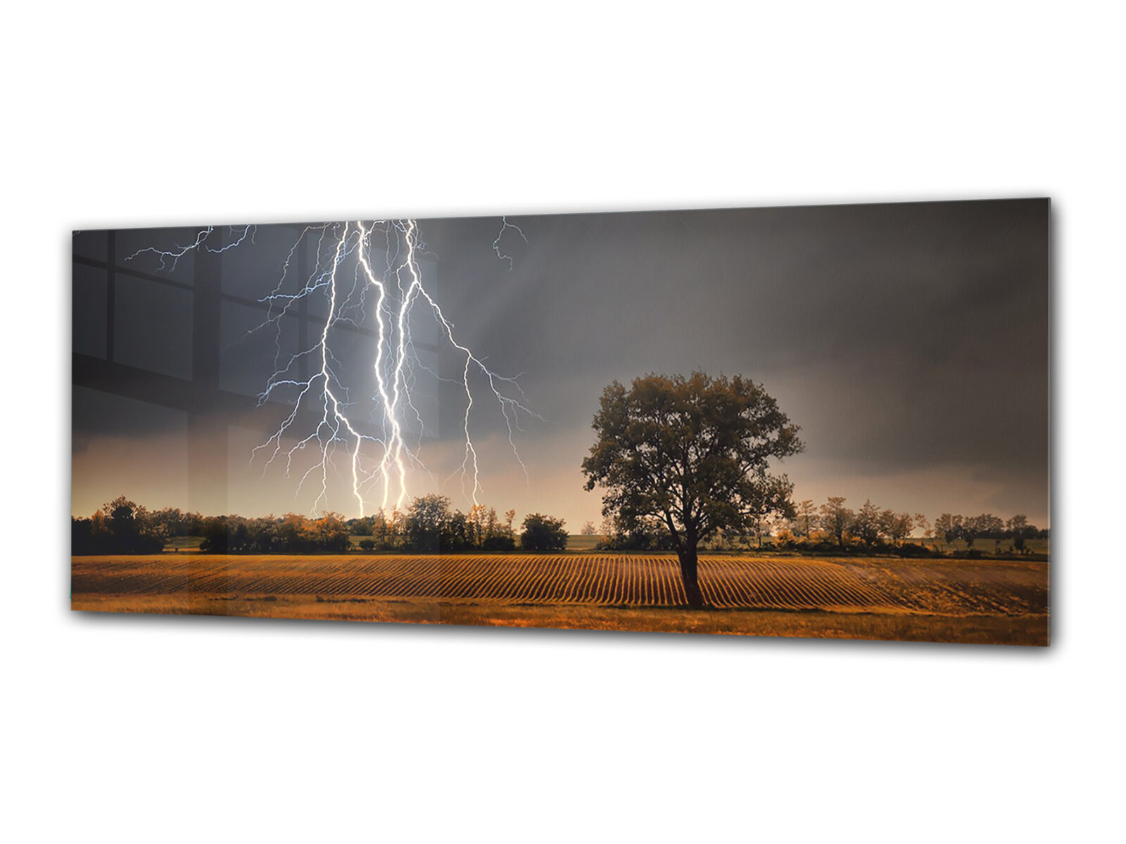 Glass Print Wall Art 80x30 cm Image on Glass Decorative Wall Picture 72328507