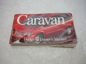 2003 dodge caravan owner manual