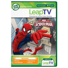 LeapFrog LeapTV Ultimate Spider-man Educational Active Video Game