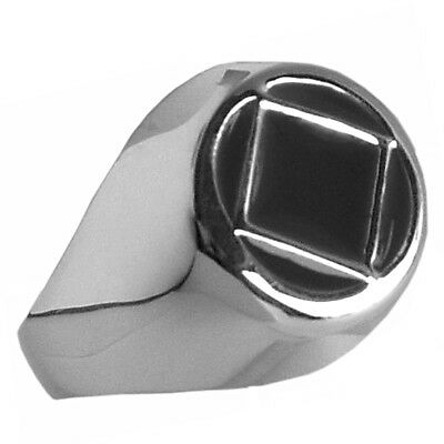 NA Narcotics Anonymous,Open Rope Style Ring Sterling Silver #541-12 Sizes 4-10