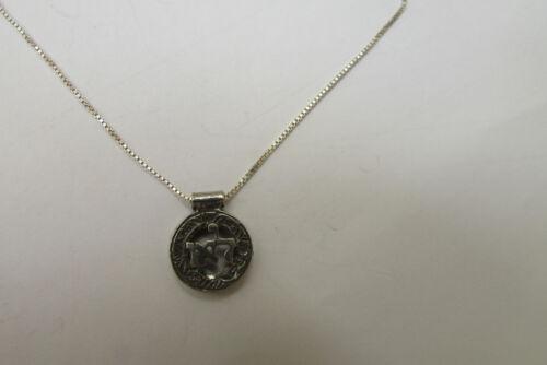 Juif Bijoux Kabbalah necklace sterling silver charm chaîne contre negativity