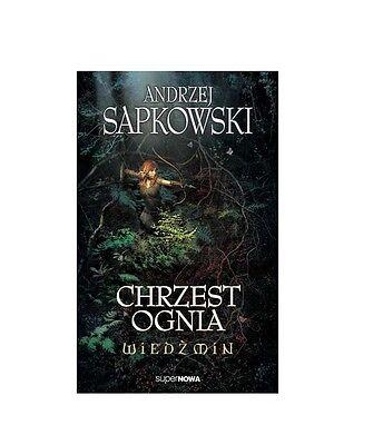 CHRZEST OGNIA WIEDZMIN THE WITCHER Andrzej Sapkowski tom 3 POLISH BOOK *T *JBook