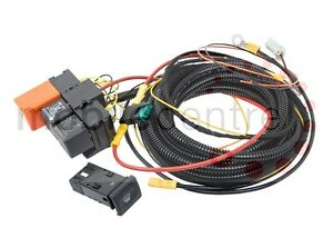 land rover defender heated windscreen wiring kit with oem switch td4 rh ebay com