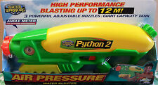 Python 2 - Water Blaster - Soaker Gun Pistol - Warer Warriors ** GREAT GIFT **