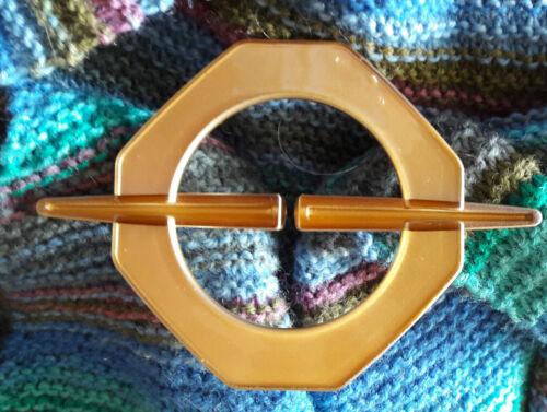 Tuchhalter Schalhalter Tuchclip Tuchbrosche Scarf Clip  grau gold in Varianten