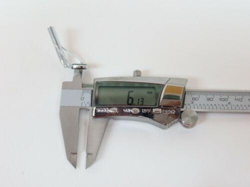 Vintage Rod Tip Top Size 10.5 6 Line Guide Fishing Pole Repair Heavy Duty Salt