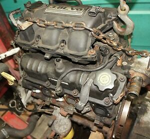 Town country caravan engine motor 3 8l 95k miles v6 for Motor oil for chrysler town and country
