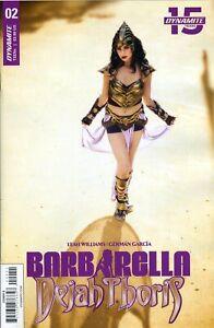 Barbarella-Dejah-Thoris-2-CVR-E-Cosplay-Dynamite-US-Comic-USA-H762