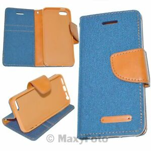 Custodia a Libro Flip Book Cover Blu per Apple iPhone XR -