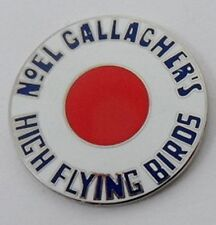 Noel Gallagher's High Flying Birds mod roundel enamel badge.Oasis,Pretty Green.