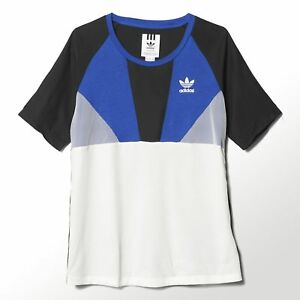 2018 sneakers detailed look classic styles Details zu Adidas Original Damen Archive Run T-Shirt Retro Sportlich Locker  Mode Run Top