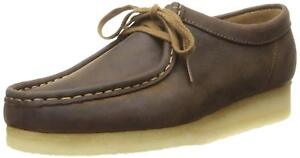 Mens Clarks 10 11 Wallabees 8 Uk Beeswax Originals G Lea Brown Stock Limited 9 f45q1