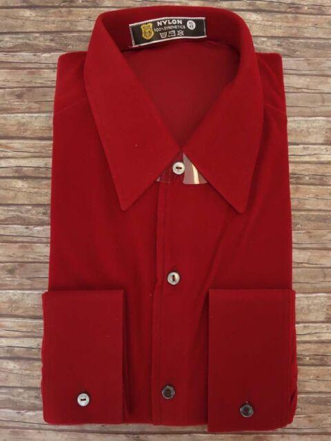 Shirt NYLON men's TRUE VINTAGE unworn DEADSTOCK  Size L   (HV5103*)