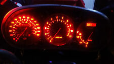 RED YAMAHA XJ900S DIVERSION  led dash clock conversion kit lightenUPgrade