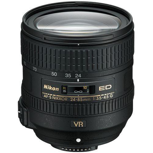 Nikon AF-S NIKKOR 24-85mm f/3.5-4.5 G ED VR Lens ZZ