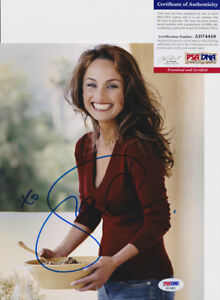 Giada-De-Laurentiis-Sexy-Chef-Signed-Autograph-8x10-Photo-PSA-DNA-COA-4