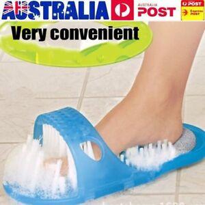 1PCS-Shower-Foot-Feet-Cleaner-Scrubber-Brush-Massager-Slipper-Bathroom-Stone