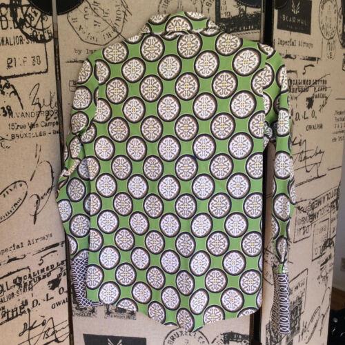 print XS groen bruin maat shirt Tizzie Y9WEDIH2